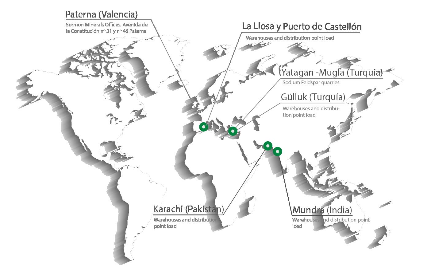 mapa ingles